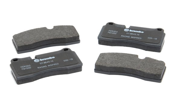 D250-0603 - Dinan by Brembo Replacement Brake Pad Set - BMW 3-Series/1M/M2/M3/M4/M5/M6 Image