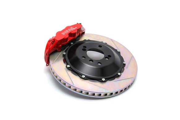 D290-0813-R - Dinan by Brembo Rear Brake Set - 2008-2013 BMW 1-Series Image