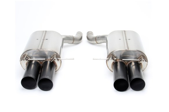 D660-0009A-BLK - Dinan Free Flow Axle-Back Exhaust - 2006-2010 BMW M5 Image