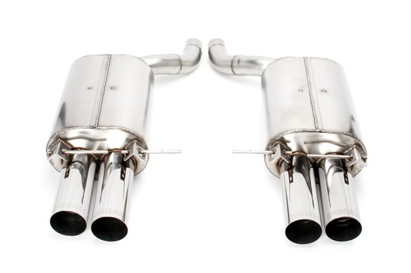D660-0009A - Dinan Free Flow Axle-Back Exhaust - 2006-2010 BMW M5 Image