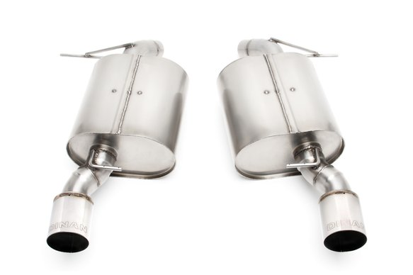 D660-0011 - Dinan Free Flow Axle-Back Exhaust - 2007-2013 BMW 335i/335is/335xi Image