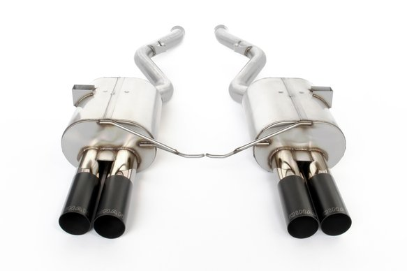 D660-0028 - Dinan Free Flow Axle-Back Exhaust - 2008-2011 BMW M3 Image