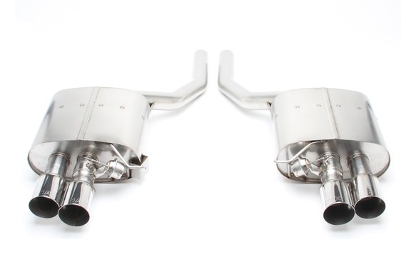 D660-0036 - Dinan Free Flow Axle-Back Exhaust - 2011-2016 BMW 550i Image