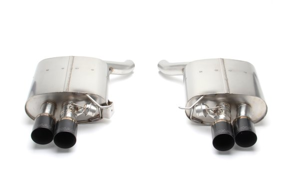 D660-0040-BLK - Dinan Free Flow Axle-Back Exhaust - 2012-2019 Alpina B6/BMW 650i Image