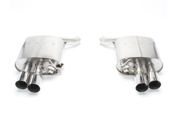 D660-0040 - Dinan Free Flow Axle-Back Exhaust - 2012-2019 Alpina B6/BMW 650i Image