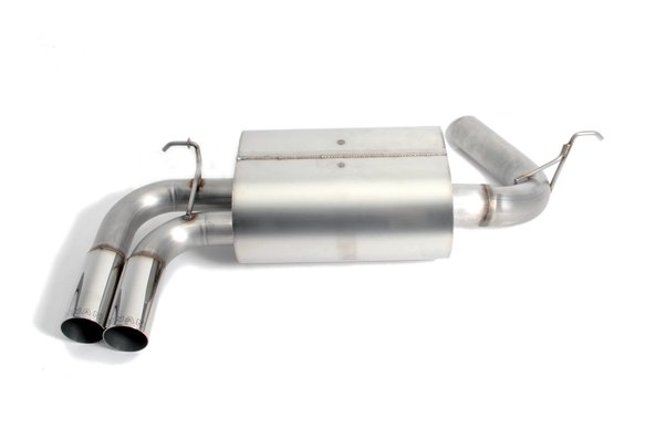 D660-0046 - Dinan Free Flow Axle-Back Exhaust - 2012-2016 BMW 328i/428i Image