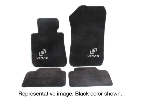 D701-DNBW2808-4C-TAN - Dinan Signature Floor Mats - 2009-2015 BMW 7-Series Image