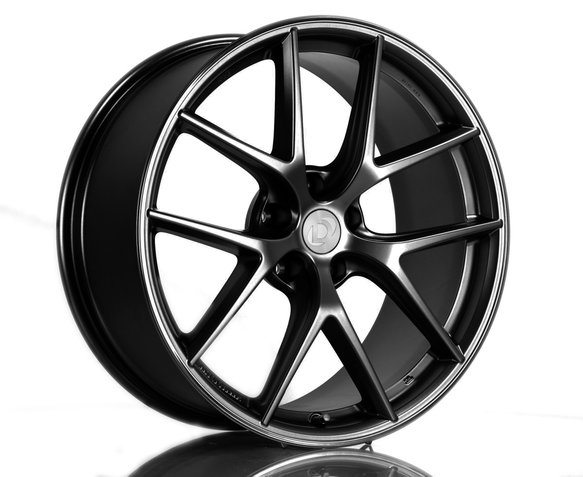 D750-0090-CIR-BLK - BBS CI-R Wheel Set - 2014-2020 BMW 228i/230i/M235i/M240i Image
