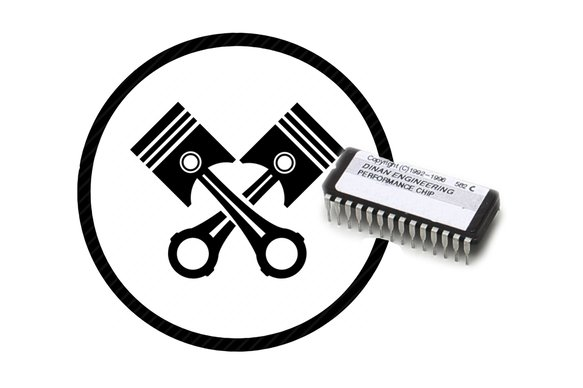 D900-3631E - Dinan Performance Engine Chip - 1991-1993 BMW M5 Image