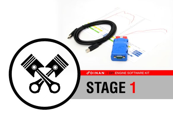 D900-44TXM-KIT - Dinan Stage 1 Performance Engine Software - 2010-2014 BMW X5M Image