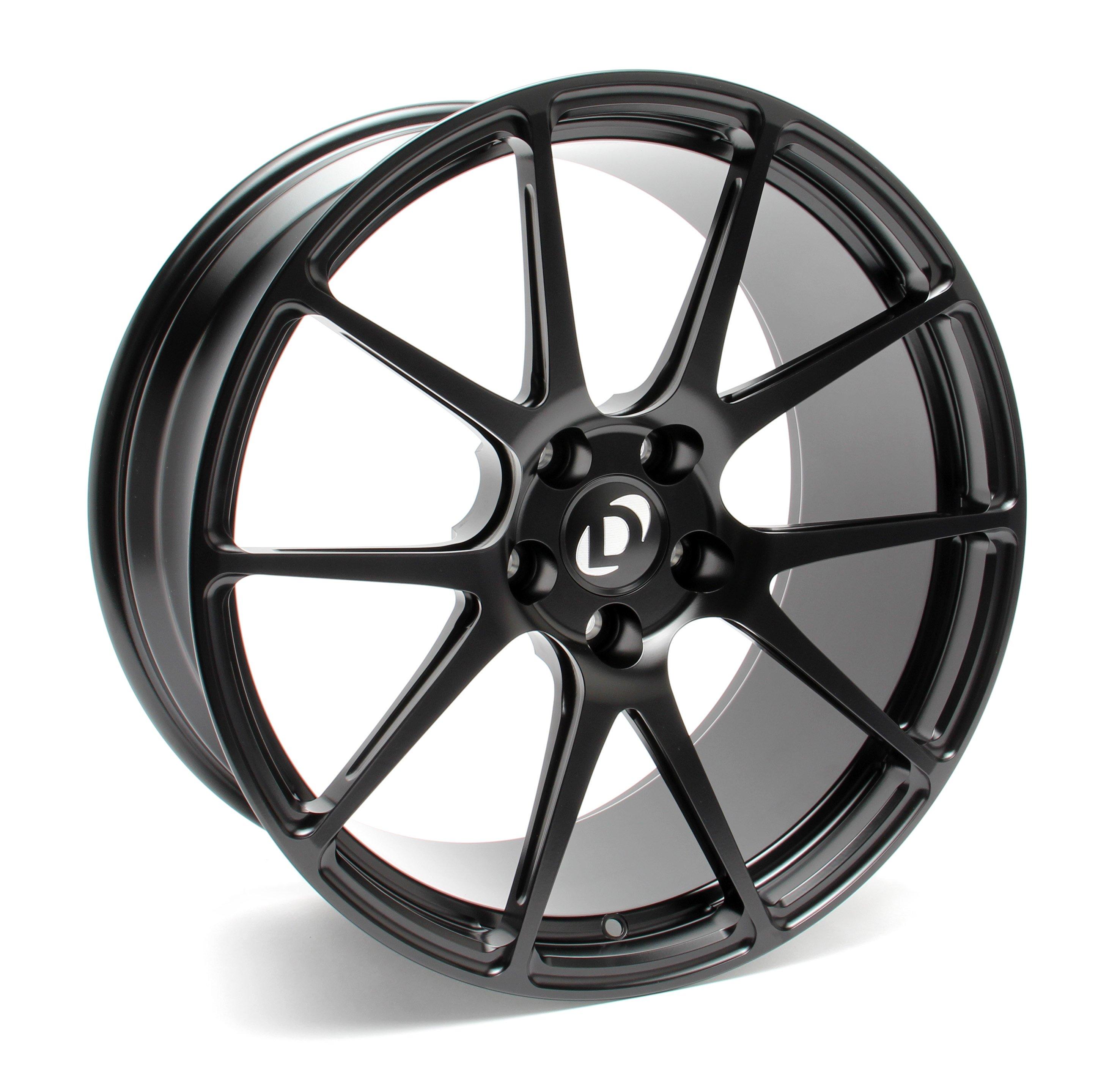 Dinan D750 0069 Ga1r Blk Forgeline Ga1r Performance Wheel Set 2004 2010 Bmw 535i 545i 550i 645ci 650i